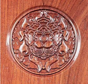 中式古典家具经典雕花牡丹花纹